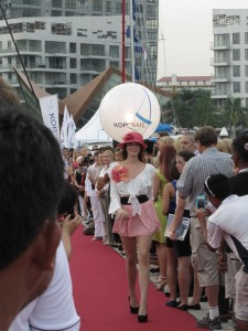 Fashion show at Boat Asia 2012